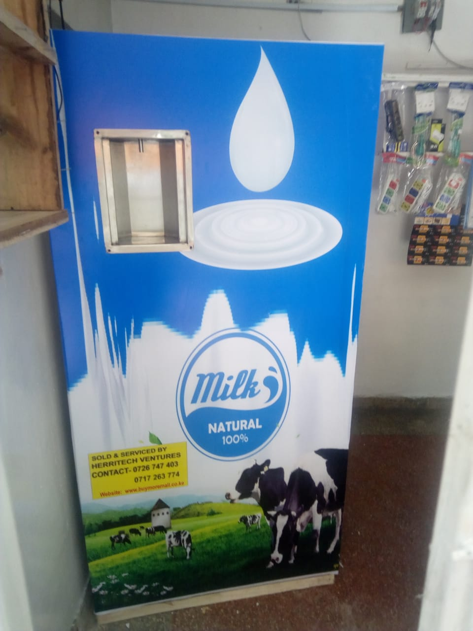 HOW TO START A MILK ATM BUSINESS IN KENYA