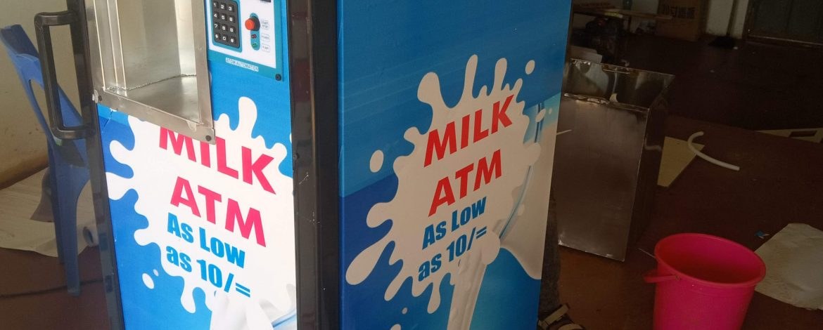 How Your Fortunes can Change Aided by a Milk ATM Vending Machine