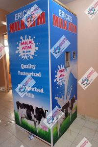 SASET Milk ATMs, Milk Dispensing ATM Machine