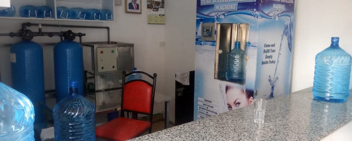 HOW TO START A WATER VENDING ATM BUSINESS IN KENYA