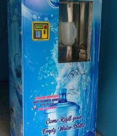 Water Vending Machine Business