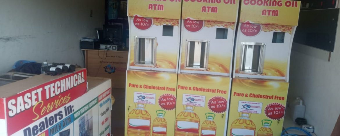 How to Start a Salad Oil ATM Business in Kenya