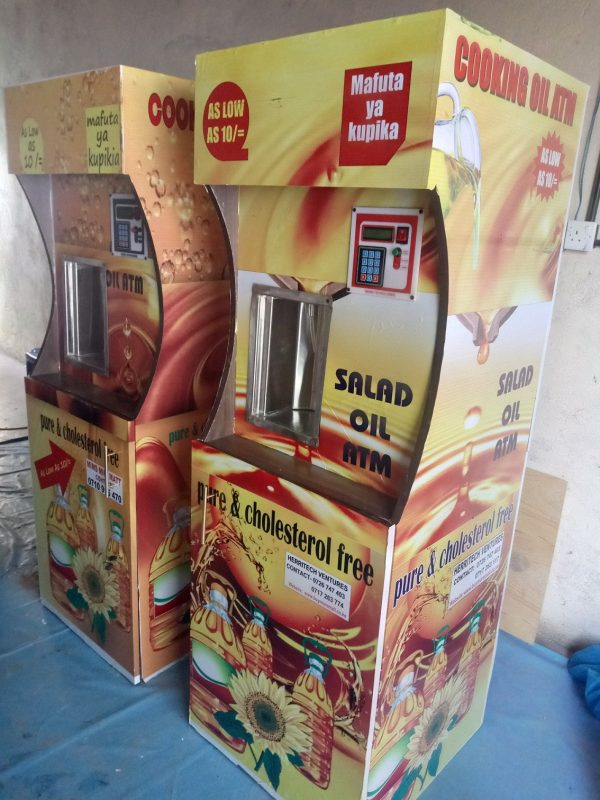 cooking oil ATM business | Salad Oil ATM