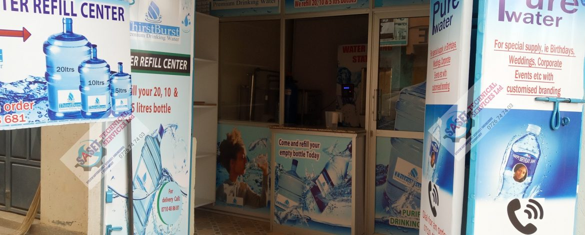 Where to Buy Water ATM in Kenya