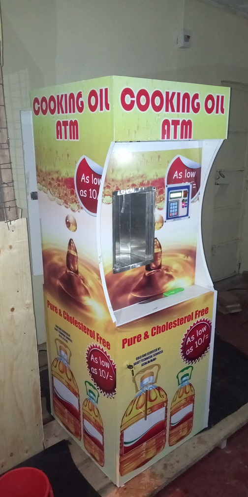 Salad oil ATM in Kenya