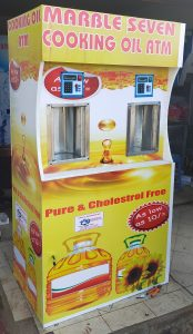 how to start a salad oil ATM side hustle business in Kenya- Double unit salad atm