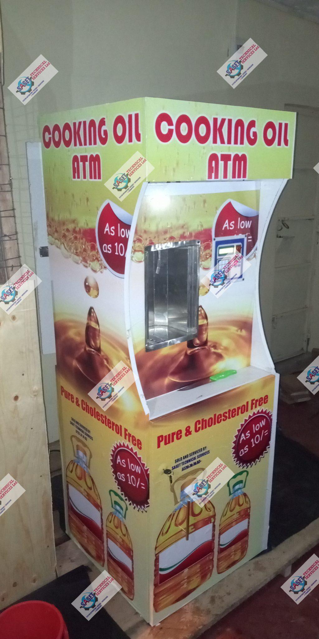 cooking oil ATM, salad oil ATM in Kenya