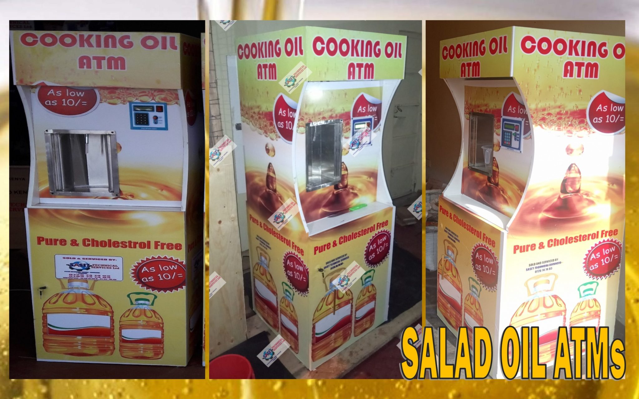 Salad Oil ATMs
