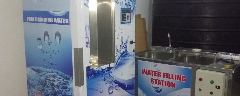 Lipa Na M-Pesa Integrated Water Vending ATM Machines