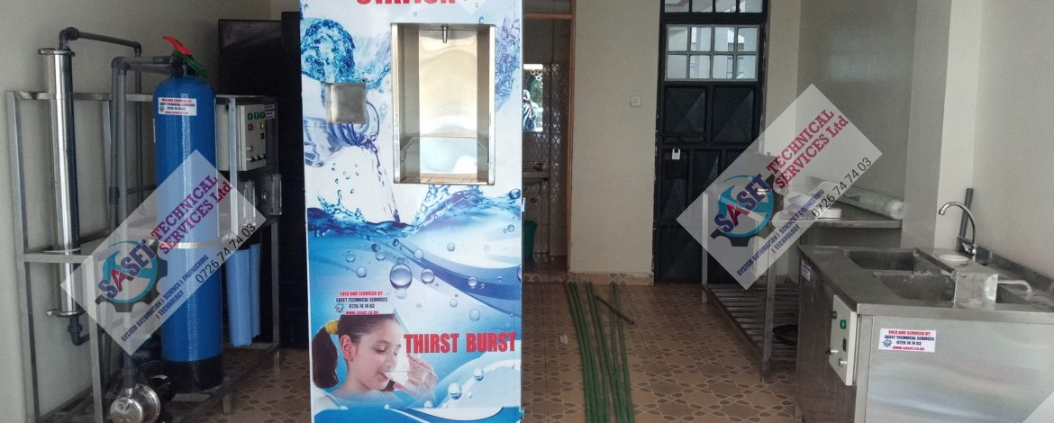 How to Easily Make Ksh 200,000 per Month Using a Water Vending ATM Machine in Kenya